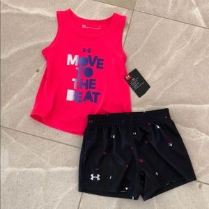 Under Armour Girl Set, size 6X OR size 4 OR 24mos